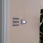 Сензорен дисплей, сензорни бутони с алуминиева декоративна рамка