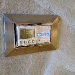 Термостат, механични ключове и декоративна рамка